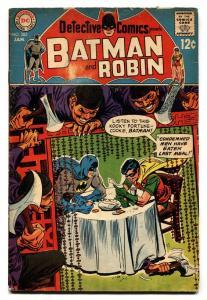 DETECTIVE COMICS #383-BATMAN AND ROBIN VG-