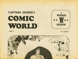 CAPTAIN GEORGES COMIC WORLD-REPRINTS-#7-SUPERMAN FN