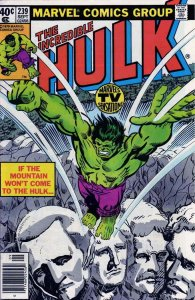 Incredible Hulk, The #239 (Newsstand) FN; Marvel | save on shipping - details in