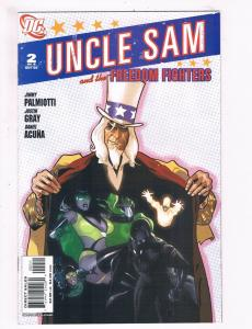 Uncle Sam And The Freedom Fighters # 2 NM DC Comic Books Awesome Issue!!!!!! SW6