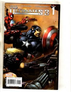 Lot Of 9 Marvel Comic Books Ultimates 3 # 1 2 3 (2) 4 5 + Loki # 1 2 3 Hulk MF11
