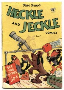 Heckle and Jeckle #12 1953-Golden Age Funny Animal G-