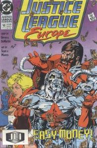 Justice League Europe #10, NM- (Stock photo)