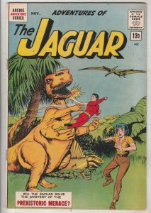 Adventures of The Jaguar #10 (Nov-63) NM- High-Grade The Jaguar