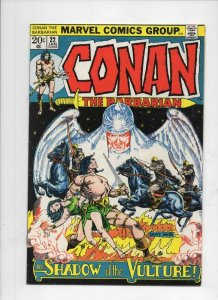 CONAN the BARBARIAN #22, VG+ Barry Smith, Howard, 1970 1973, more in store