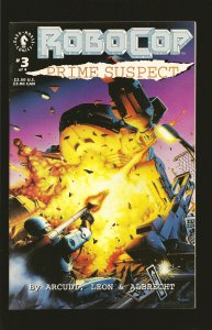 Dark Horse Comics Robocop Prime Suspect No 3 December 1992