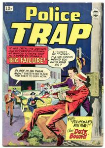 Police Trap #17 1964- Super Golden Age Crime reprint F/VF