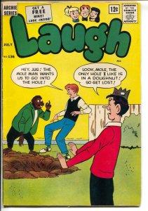 Laugh #136 1962-Betty-Veronica-Mole Man-superhero-Fly-Girl-FN-