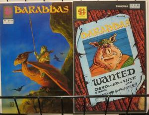 BARABBAS (SLAVE LABOR) 1-2 BARBARIAN PIG!
