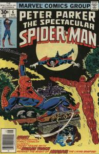Spectacular Spider-Man, The #6 VG; Marvel | low grade comic - save on shipping -