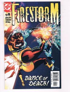 Firestorm #4 VF DC Comics CW TV Show Comic Book Jolley Cross Flash DE22