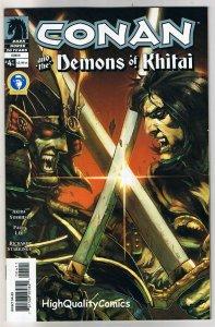 CONAN - DEMONS of KHITAI #4, NM, Paul Lee, Robert E Howard, 2005, more in store