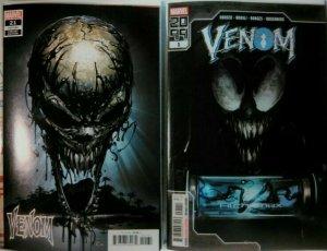 VENOM ISLAND #21 CLAYTON CRAIN VARIANT + VENOM 2099 #1 MARVEL COMICS SPIDER-MAN