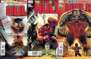 HULK (2008) 39-41  OMEGEX 3-Part Story Arc