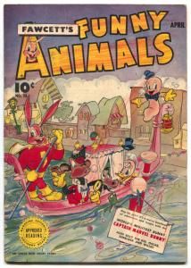 Fawcett's Funny Animals #28 1945-Hoppy The Marvel Bunny- G