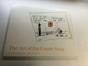 The Art Of The Comic Strip University Of Maryland Department Of Art Nm Near Mint