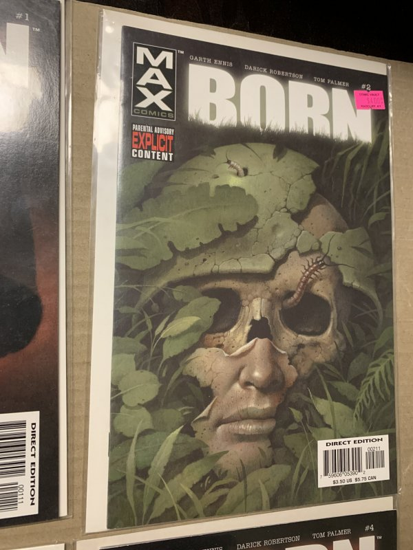 Marvel Max Born Limited Series Complete Set