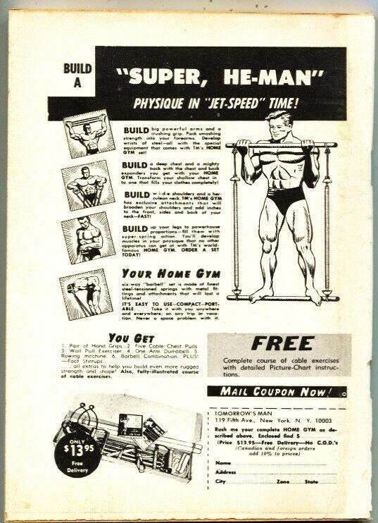 MAGAZINE OF HORROR-BIZARRE-GRUESOME--PULP-SEABURY QUINN--#27-MAy 1969