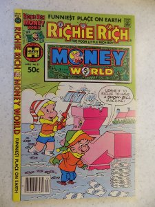 RICHIE RICH MONEY WORLD # 51 HARVEY CARTOON ADVENTURE FUNNY