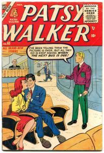Patsy Walker #63 1956- Atlas Romance- Movie Theater cover VG-