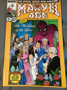 Marvel Age #54 NM (1987) The Wedding of the Year