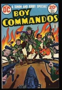Boy Commandos #1 VF 8.0