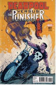 Deadpool vs. The Punisher #1 (2017) var. cvr.