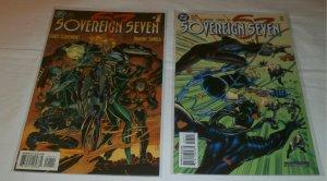 Sovereign Seven (1995) #1,7 (set of 2) Claremont/Turner