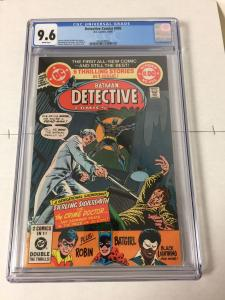 Detective Comics 495 Cgc 9.6 White Pages