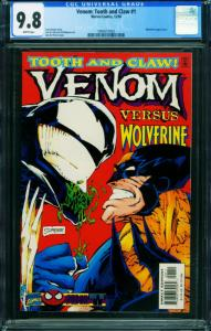 Venom: Tooth and Claw #1-CGC 9.8 Wolverine-Marvel-comic 1994557003