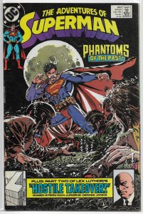 Adventures of Superman   vol. 1   #453 FN (Exile in Space)