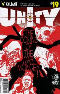 Unity (2nd Series) #19B VF/NM; Valiant   save on shipping - details inside