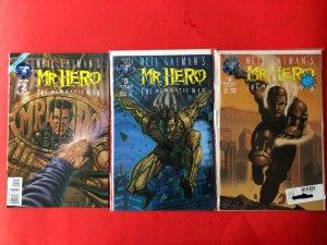 MR. HERO THE NEWMATIC MAN V1 's2,4,5. 1995 TENKO COMICS / NM
