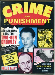 Crime and Punishment 5/1969-Al Capone-Mafia-Mickey Finn-Loeb-Hell's Alley-FN