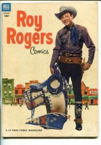 ROY ROGERS #60-1952- PHOTO COVER-KING OF THE COWBOYS-vg