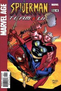 Marvel Age Spider-Man Team-Up #4, NM (Stock photo)