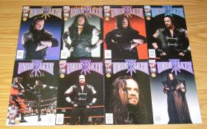 Undertaker #1-10 VF/NM complete series + preview + halloween - photo variants