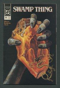 Swamp Thing #90  (2nd Series) 8.5 VFN+ December 1989