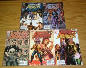 House of M: Avengers #1-5 VF/NM complete series - hawkeye - luke cage - punisher