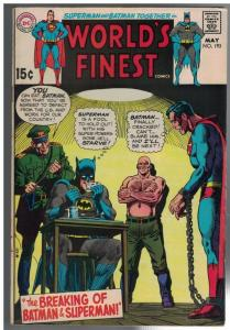 WORLDS FINEST193 G-VG May 1970