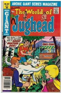 ARCHIE GIANT SERIES 487 VF-NM Oct. 1979. WORLD OF JUGHE