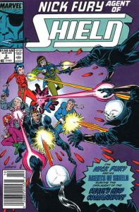 Nick Fury, Agent of S.H.I.E.L.D. (3rd Series) #2 FN; Marvel | save on shipping -