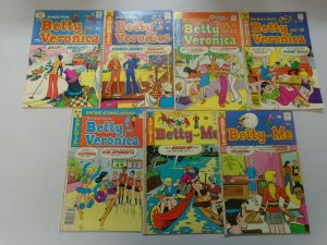 Bronze age Archie Betty comic lot 13 different issues avg 5.0 VG FN