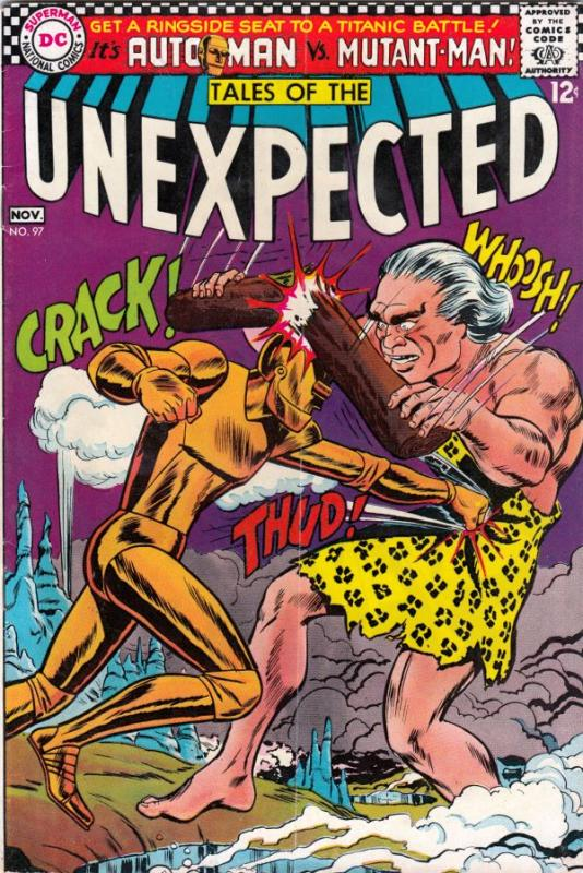 Tales of the Unexpected #97 (Nov-66) FN/VF Mid-High-Grade Auto-Man