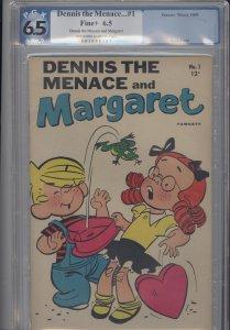 Dennis the Menace and Margaret # 1   PGX 6.5