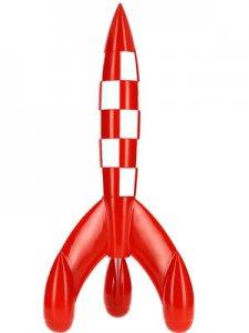 TINTIN: Figura resina Tintin:   RESINA COHETE DE 30 CM. (ref 46949)