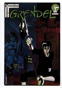 GRENDEL #1-1983-COMICO-HIGH GRADE-Signed by MATT WAGNER