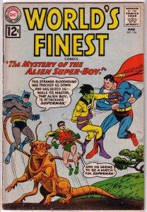 World's Finest Comics   #124 GD Green Arrow
