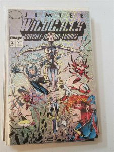 WILDC.A.T.S: COVERT ACTION TEAM #2 (1992, Image Comics) NM or Better
