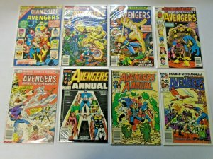 Avengers Annual Comic Lot From: #5-23 + '99-01 19 Diff Average 8.0 VF (1976-94)